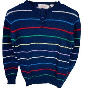 vintage northern isles sweater New Zealand wool
